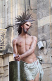 Standbeeld van Jesus Stock Foto