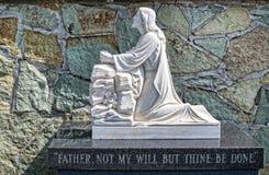 Standbeeld van Jesus royalty-vrije stock fotografie