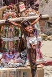 Standbeeld van Jesus Christ, Antigua, Guatemala Royalty-vrije Stock Afbeeldingen