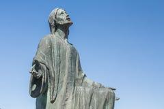 Standbeeld van Jesus Christ-het bidden Stock Afbeeldingen