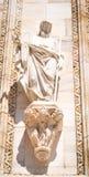 Standbeeld van Jesus Christ in Milaan, Italië stock afbeelding