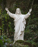 Standbeeld van Jesus-Christus stock foto