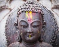 Standbeeld van jong Boedha - Katmandu Stock Afbeeldingen