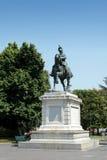 Standbeeld van Kampioen Emmanuel II in Piazza Bustehouder, Verona Royalty-vrije Stock Afbeeldingen