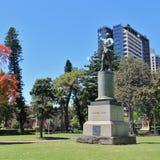 Standbeeld van Kapitein James Cook in Sydney Royalty-vrije Stock Afbeelding
