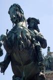 Standbeeld van keizer Franz Joseph I - Wenen Royalty-vrije Stock Afbeeldingen