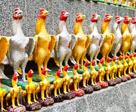Standbeeld van kippen. Royalty-vrije Stock Fotografie