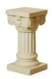Standbeeld van kolommen in Griekse stijl Royalty-vrije Stock Fotografie