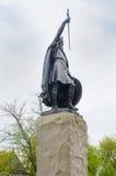Standbeeld van Koning Alfred Winchester stock foto