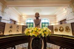 Standbeeld van Koning Chulalongkorn Rama V Stock Foto's