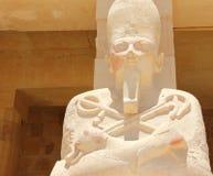 Standbeeld van Koningin Hatshepsut. Stock Fotografie