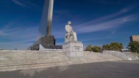 Standbeeld van Konstantin Tsiolkovsky, de voorloper van stock videobeelden
