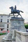 Standbeeld van Lafayette Stock Afbeelding