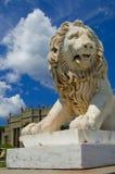 Standbeeld van leeuw Royalty-vrije Stock Fotografie