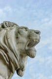Standbeeld van Leeuw Stock Afbeelding