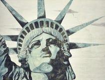 Standbeeld van Liberty Painting royalty-vrije stock afbeeldingen