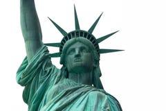 Standbeeld van Liberty Portrait Royalty-vrije Stock Foto's