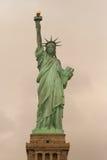 Standbeeld van Liberty Retro Royalty-vrije Stock Fotografie