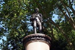 Standbeeld van Lord Clyde in Waterloo Place, Londen, Engeland Royalty-vrije Stock Afbeeldingen