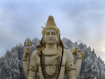 Standbeeld van Lord Shiva royalty-vrije stock fotografie