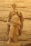 Standbeeld van Louvre stock fotografie