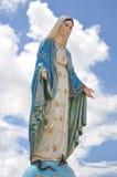 Standbeeld van madonna Stock Foto's