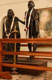 Standbeeld van Mahatma Gandhi Royalty-vrije Stock Foto's