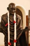 Standbeeld van Mahatma Gandhi Royalty-vrije Stock Fotografie