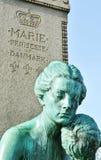 Standbeeld van Marie-prinses van Denemarken in Kopenhagen stock afbeeldingen