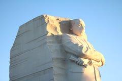 Standbeeld van Martin Luther King Jr bij Gedenkteken Stock Afbeelding