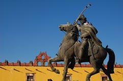 Standbeeld van Mexicaanse Held Royalty-vrije Stock Afbeeldingen