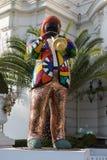 Standbeeld van Miles Davis in Nice, Frankrijk Royalty-vrije Stock Afbeeldingen