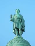 Standbeeld van Napoleon op zijn plaats Vendome Stock Foto's