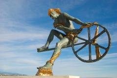 Standbeeld van Neptunus Vector Illustratie