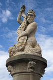 Standbeeld van Neptunus, Lowestoft, Suffolk, Engeland Royalty-vrije Stock Fotografie
