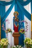 Standbeeld van Onze Dame van Eeuwige Hulp stock foto