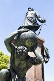 Standbeeld van Otto von Bismarck Royalty-vrije Stock Afbeelding
