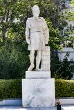 Standbeeld van oude Griekse Pericles stock fotografie
