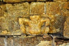 Standbeeld van oude mens Royalty-vrije Stock Foto