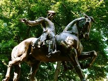 Standbeeld van Paul Revere Royalty-vrije Stock Afbeeldingen