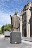 Standbeeld van Paus Johannes Paulus II, Mexico-City Stock Foto