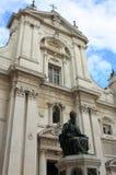 Standbeeld van Paus Sixtus V in Loreto Stock Fotografie
