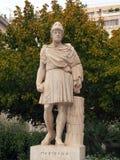 Standbeeld van Pericles, Athene Stock Foto