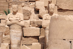 Standbeeld van Pharaohs Royalty-vrije Stock Afbeelding