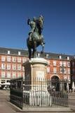 Standbeeld van Philip III stock fotografie