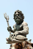 Standbeeld van Poseidon royalty-vrije stock foto