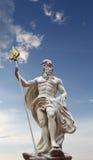 Standbeeld van Poseidon royalty-vrije stock foto's
