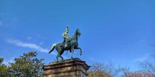 Standbeeld van Prins Komatsu Akihito, Japan royalty-vrije stock foto's