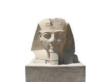 Standbeeld van Ramses 2 bij Luxor-(geïsoleerde) tempel Royalty-vrije Stock Foto
