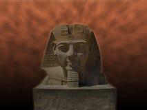 Standbeeld van Ramses 2 bij Luxor-tempel () Royalty-vrije Stock Foto